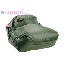 Sedací pytel 189x140 comfort s popruhy olive Beanbag