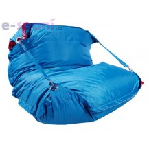 Sedací pytel 189x140 comfort s popruhy turquoise