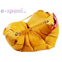 Sedací pytel 189x140 comfort s popruhy golden Beanbag