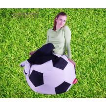 Sedací vak fotbalový míč 90 cm Beanbag