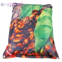 Designový sedací vak 189x140 Coffee s popruhy Beanbag