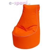 Sedací vak OutBag fluo orange