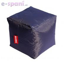 Sedací vak cube dark gray