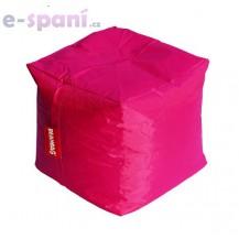 Sedací vak cube pink Beanbag
