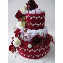Textilní dort 3-V třípatrový Veratex