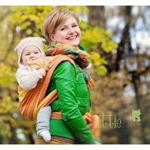 Little FROG Tkaný šátek na nošení dětí - Jasper LITTLE FROG